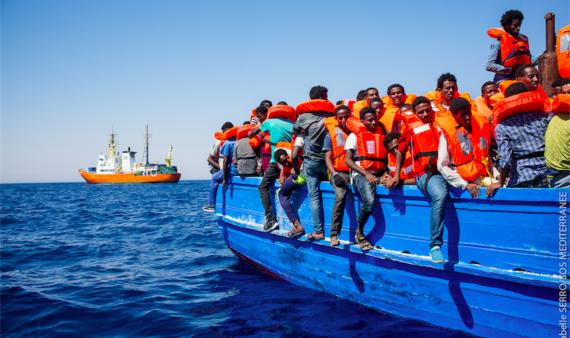 D'une rive à l'autre, les migrations vers l'Europe
